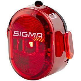 SIGMA SPORT Nugget II Sykkellys rød/Svart